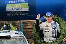 WRC - Nur um 3,6 Sekunden geschlagen: Ogier/Ingrassia auf Rang zwei: Finnischer Feiertag: Latvala siegt beim Heimspiel