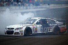 NASCAR - Spannendes Rennen mit Big One: Zweiter Pocono-Sieg in Folge f�r Earnhardt