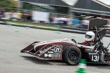 Formula Student - Zielankunft hing am seidenen Faden: Regensburg holt st�rkstes Teamergebnis
