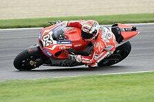 MotoGP - N�chster Podestplatz f�r Ducati?: Dovizioso: Erste Reihe ist unglaublich