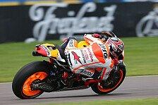 MotoGP - Mehr als eine halbe Sekunde Vorsprung: Marquez im vierten Training mit Bestzeit