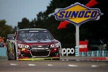 NASCAR - Geheimfavorit Ambrose startet aus Reihe eins: Gordon steht zum 75. Mal auf Pole