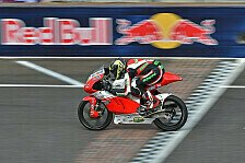 Moto3 - Sensationserfolg f�r das Racing Team Germany: Indy: Gr�nwald und �ttl Kopf-an-Kopf in Top-20