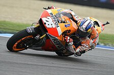 MotoGP - Keinen Grund f�r harten Vorderreifen: Pedrosa selbstkritisch nach Strategie-Fauxpas