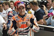 MotoGP - Ein Sieg mit elf Runden im Schongang: Marquez: Wollte eigentlich hinter Vale bleiben