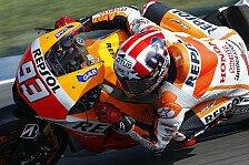 MotoGP - Bradl nach Kollision out: Marquez k�mpft sich zu zehntem Saisonsieg