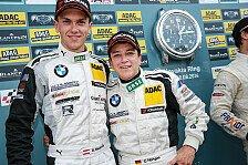 ADAC GT Masters - Titelkampf in der GT Masters spitzt sich zu : Baumann kann weiter auf Meistertitel hoffen