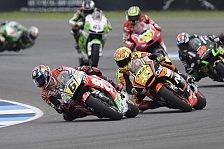 MotoGP - Mit Gl�ck zum Erfolg: Bradl will sich nach Indy-Kollision rehabilitieren