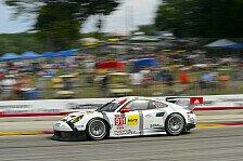 USCC - Werksteam Porsche North America mit Lerneffekt: Porsche mit Top-5-Platzierung zufrieden