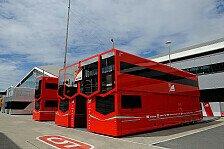 Formel 1 - Logistikzentrum im Vollstress: Die Formel 1 reist um die Welt