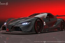 Games - Neue Toyota Rennwagen-Version: Toyota FT-1 Vision f�r Grand Turismo 6