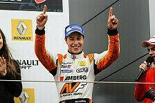 WS by Renault - Gro�er Schritt nach vorne gelungen: Zoel Amberg: Bereit f�r den Sieg