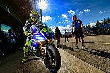MotoGP - Pedrosa und Marquez im vierten Training in den Top-3: Rossi: Sturz, Verletzung & Bestzeit
