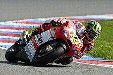 MotoGP - Gutes Qualifying f�r Pirro: Crutchlow f�hlt sich schon viel besser
