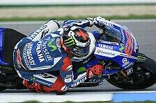 MotoGP - Bradl landet auf Rang sechs: Warm-Up: Lorenzo schnappt sich die Bestzeit