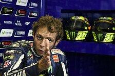 MotoGP - Finger sieht aus wie ein Cabrio: Rossi verletzt sich an der Hand