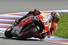 MotoGP - Knapp am Qualifying-Rekord vorbei: Marquez: Startrekord? Podium ist Prim�rziel