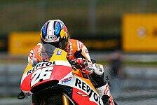 MotoGP - L�cke bis zum Schluss gehalten: Pedrosa: �bergl�cklich nach Herzschlag-Finale
