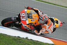 MotoGP - Debakel f�r Rossi und Lorenzo: Marquez �berlegen Schnellster im zweiten Training