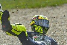 MotoGP - Hernandez f�hrt Bestzeit bei Crashfestival: Rossi st�rzt im ersten Misano-Training