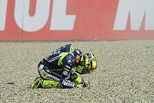MotoGP - Ein schmerzhaftes Wochenende: Rossi: Offener Finger macht Probleme