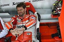 MotoGP - Verletzung an Schulter zugezogen: Crutchlow: Wollte Bradl nicht wieder abschie�en