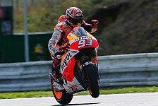 MotoGP - Iannone und Dovizioso in den Top-3: Marquez gibt die Pace am Freitagmorgen vor