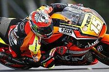 MotoGP - Forward: De Angelis mit guten Fortschritten