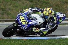 MotoGP - Sch�n, Marc endlich zu schlagen: Rossi musste sich fitspritzen lassen