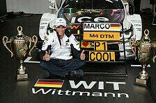 DTM - Von Rennen zu Rennen: Marco Wittmann: Der Vorsprung ist mir bewusst