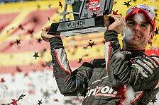 IndyCar - Montoya wird Zweiter: Power gewinnt in Milwaukee