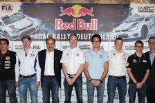 WRC - Rallye-Stars beim Pressegespr�ch: Gro�e Vorfreude auf die ADAC Rallye Deutschland