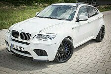 Auto - R�uberischer Gigant: BMW X6 M White Shark-Edition