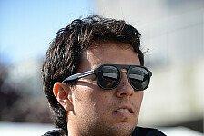 Formel 1 - Force India wohl unver�ndert in 2015: Perez: Steht Vertragsverl�ngerung kurz bevor?
