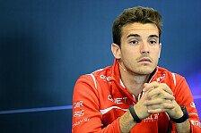 Formel 1 - Was passiert mit Bianchi?: Booth: Wir sind sehr zufrieden mit Jules
