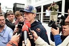 Formel 1 - Intensive Vorbereitung: Verstappen: Schon dieses Jahr F1-Eins�tze