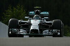 Formel 1 - Rosberg vor Hamilton: 1. Training: Mercedes gibt in Spa den Ton an