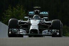 Formel 1 - Rosberg vor Hamilton: 1. Training: Mercedes gibt in Spa den Ton an
