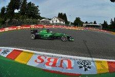 Formel 1 - Nat�rlich aufregend: Lotterer: So lief sein 1. Caterham-Einsatz