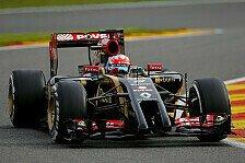 Formel 1 - Den richtigen Kompromiss finden: Romain Grosjean: Monza wird f�r uns schwierig