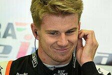 Formel 1 - Bremsen verglast: H�lkenberg scheitert zum ersten Mal in Q1