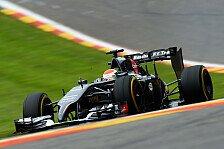 Formel 1 - Mit dem Tag zufrieden: Sutil setzt auf Trockenabstimmung