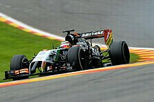 Formel 1 - Sechs Mercedes in den Top-10: Top-Speeds in Spa: H�lkenberg Schnellster