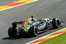 Formel 1 - Sollte f�r uns besser sein als Spa: Force India Vorschau: Italien GP
