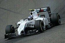 Formel 1 - Neue Reihenfolge: 3. Training: Bottas vor Ricciardo und Rosberg