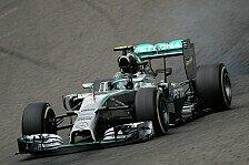 Formel 1 - Viel herumgerutscht: Spa: Mercedes-Gegner holen auf