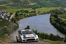 WRC - Rutschpartie in den Weinbergen: Latvala f�hrt, Ogier verabschiedet sich