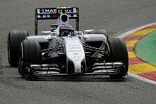 Formel 1 - Weitreichende Aerodynamik-Tests machen Mut: Williams auch nach Sommerpause stark