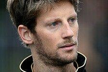 Formel 1 - Gespr�che finden immer statt: Grosjean �ber Fahrermarkt: Alonso der Schl�ssel