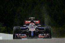 Formel 1 - Auspuffproblem behindert Vergne: Toro Rosso verfehlt Q3 knapp